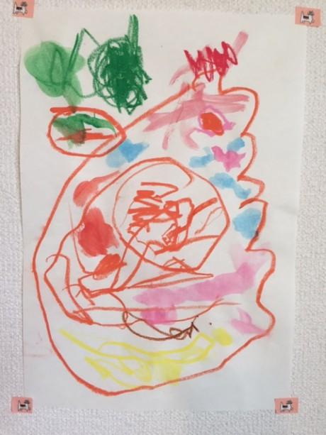 【画像9】アボガドを食べる怪獣